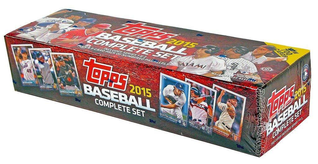 2015 Topps Baseball Collection Full Set