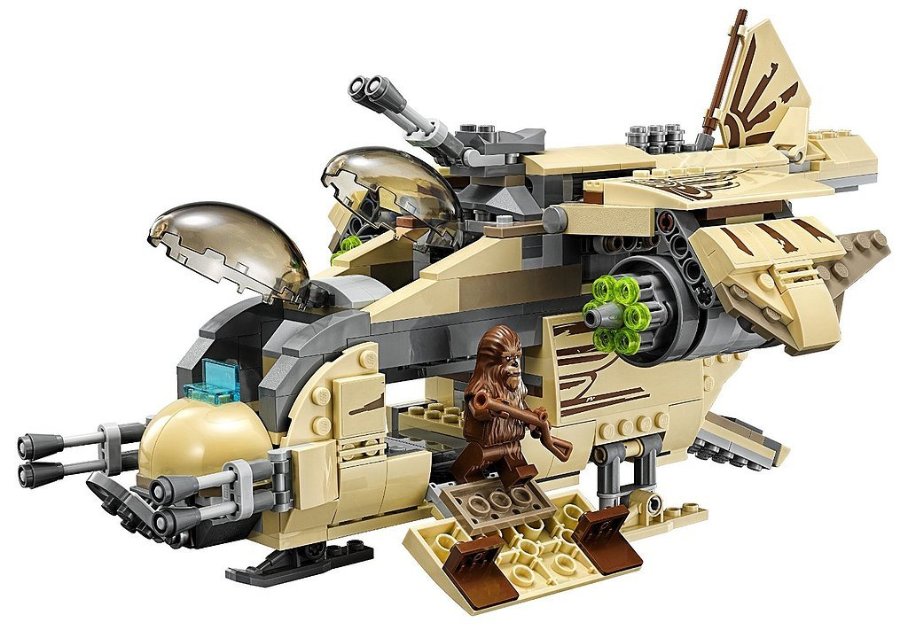 For 7-Year-Olds: Lego Star Wars Wookiee Gunship