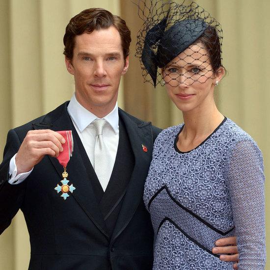 Benedict Cumberbatch Gets a CBE
