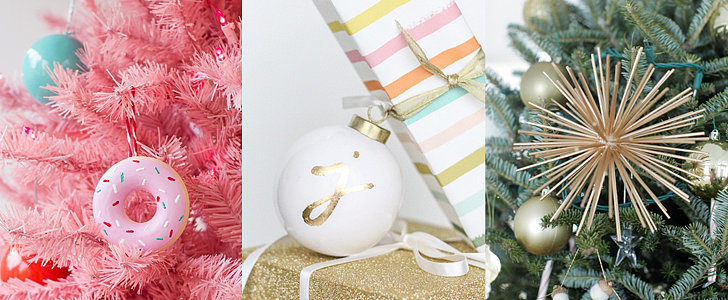 POPSUGAR Shout Out: These DIY Christmas Ornaments Are Unbelievably Easy to Make