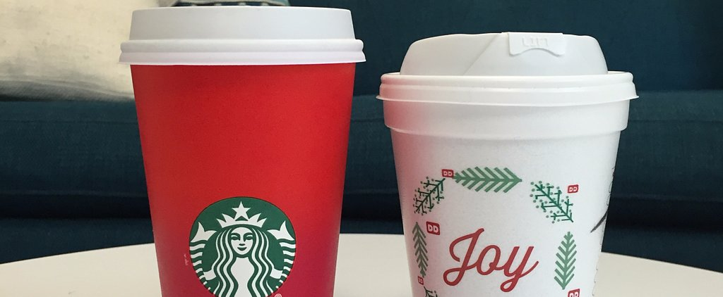Dunkin' Donuts Releases New Holiday Cup, Pleases Starbucks-Cup Haters