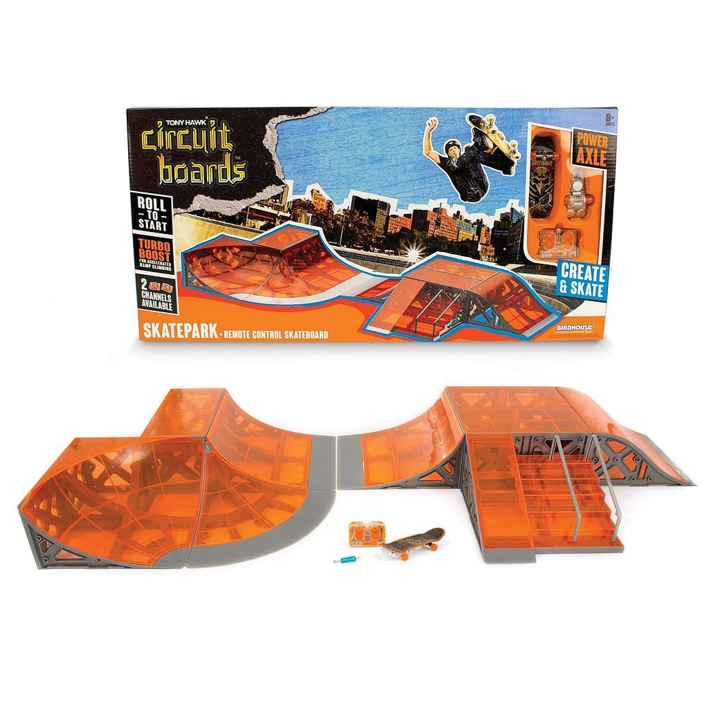 For 8-Year-Olds: HEXBUG Tony Hawk Circuit Boards Skatepark
