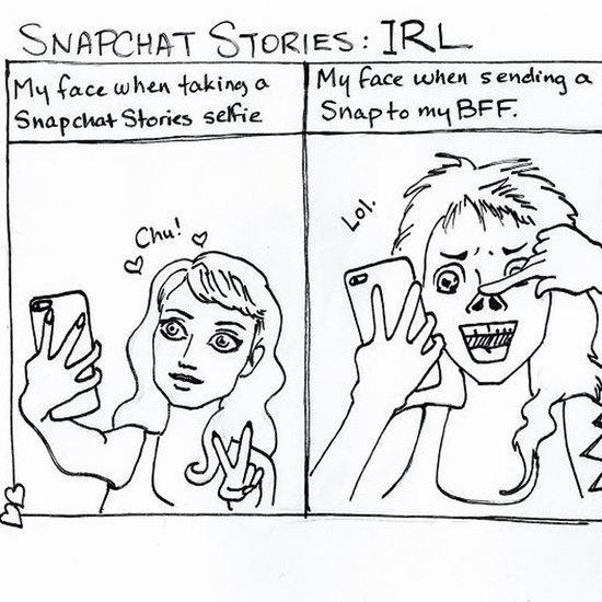 Comics About Social Media