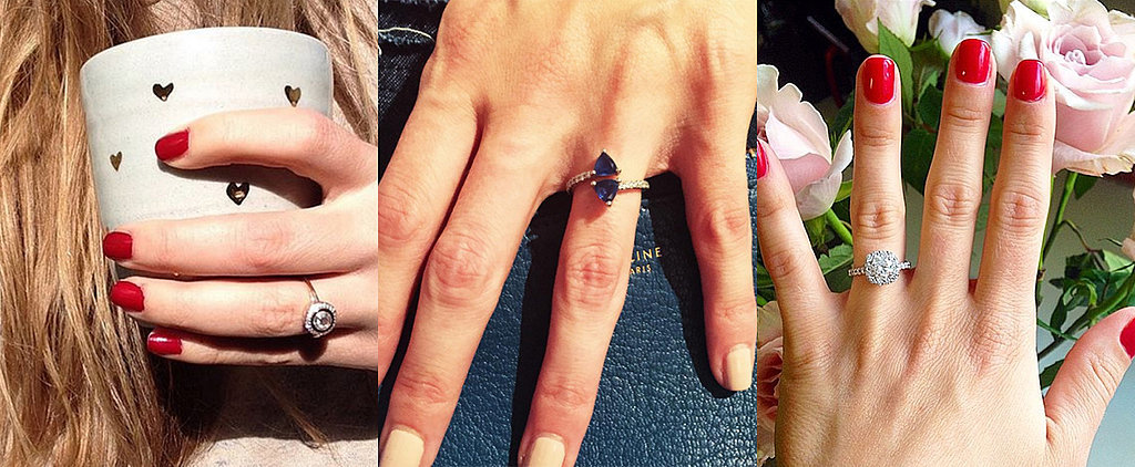 45 Real-Girl Engagement Ring Pictures
