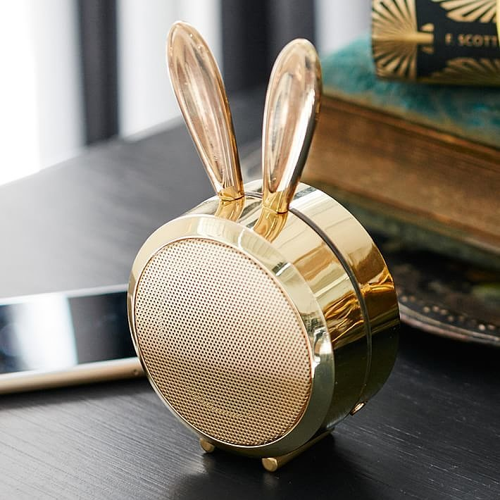 For 9-Year-Olds: Emily + Meritt Bluetooth Bunny Speaker
