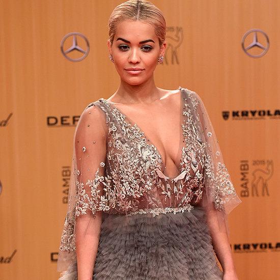Rita Ora in Marchesa Dress at Bambi Awards 2015