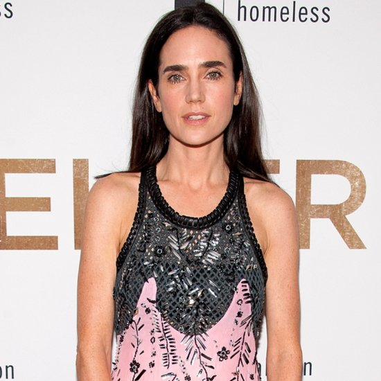 Jennifer Connelly Just Wore a Flashy Pink and Black Dress You Have to See