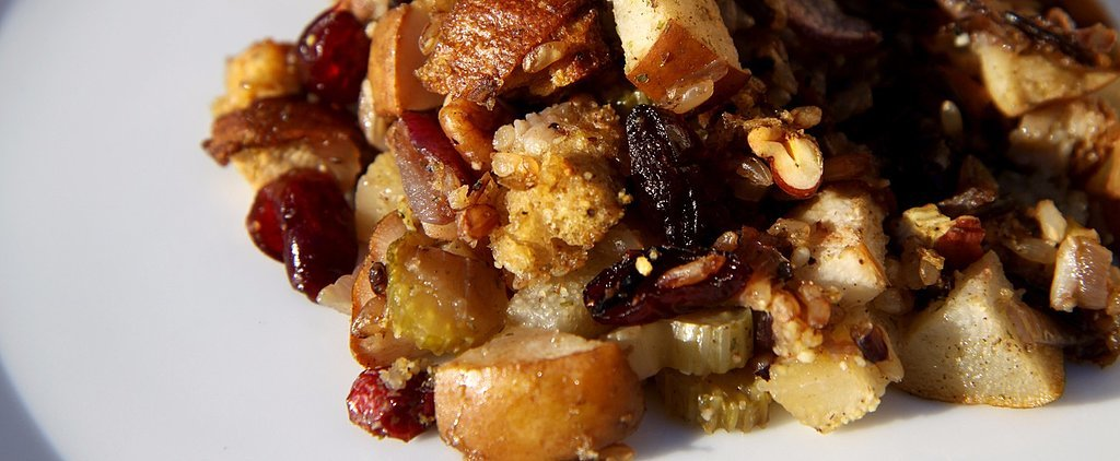 This Cranberry-Pear Wild Rice Stuffing Is Protein-Packed!