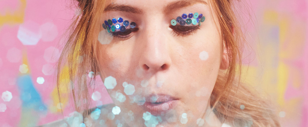 We All Want Gemma Styles' Amazing Glitter Party Hair!