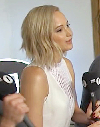 Jennifer Lawrence Sweetly Handles Awkward Interview as Olly Murs Tries to Flirt With Her