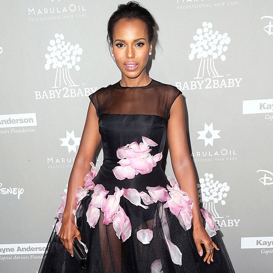 Kerry Washington in Giambattista Valli at Baby2Baby Gala