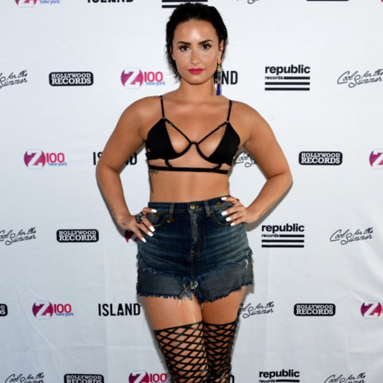 Demi Lovato's Best Onstage Outfits of 2015