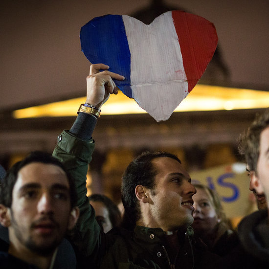 Pictures of Mourning After Paris Attacks November 2015