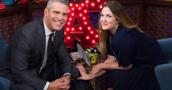 Drew Barrymore Denies Martha Stewart Shade On 'Watch What Happens: Live'