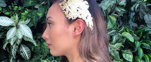 Putting Gold Leaf on Your Head Is the Ultimate Festive Hair Hack
