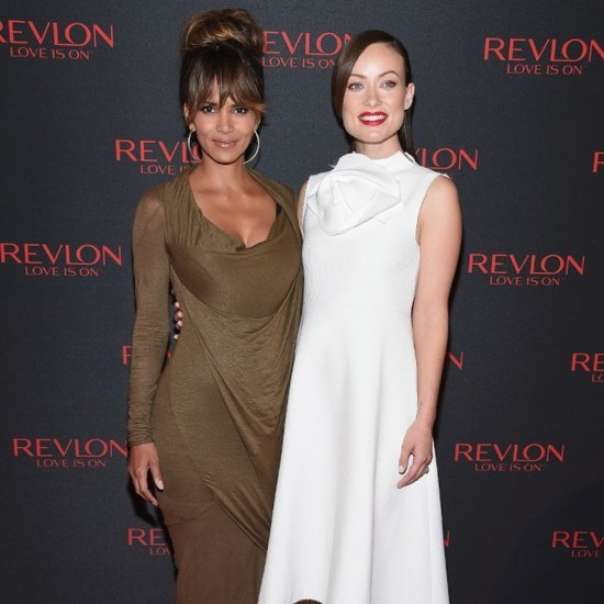 Halle Berry and Olivia Wilde at Revlon Event 2015
