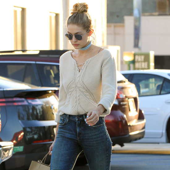 Gigi Hadid Over-the-Knee Boots | Style