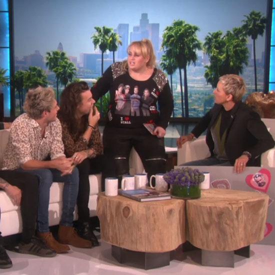 Rebel Wilson New Movie Trailer on Ellen With One Direction