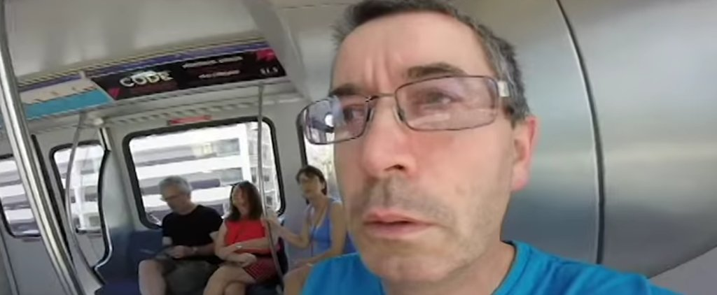 This Dad Accidentally Filmed His Vegas Vacation in Selfie Mode, and We Can't Stop Laughing