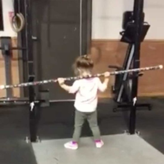 Adorable Video of Young Girl Doing CrossFit