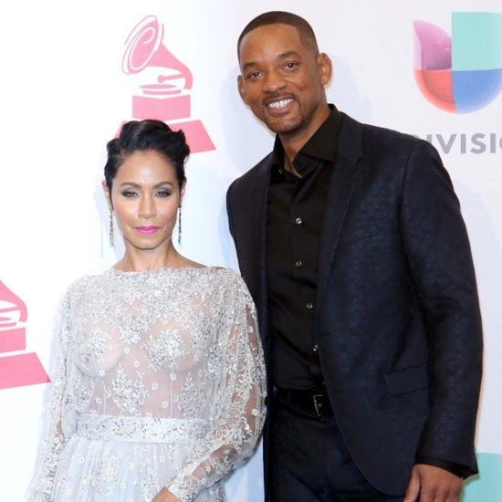 Will and Jada Pinkett Smith at the 2015 Latin Grammys
