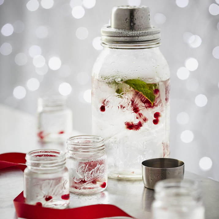 Mason-Jar Cocktail Shaker