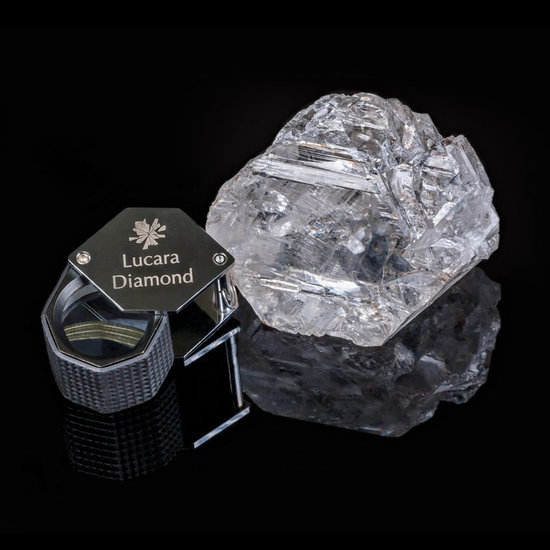 Surely the Discovery of the World's Second Largest Diamond Means a Small Piece For All of Us