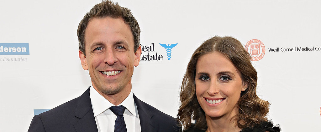 Seth Meyers and His Wife Are Expecting Their First Child Together!