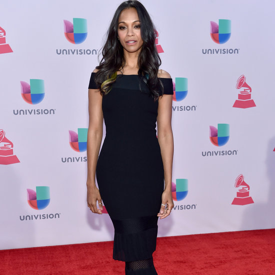 Zoe Saldana's Beauty Look at the 2015 Latin Grammys
