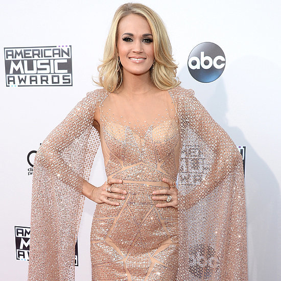 Carrie Underwood's Dress at the American Music Awards 2015