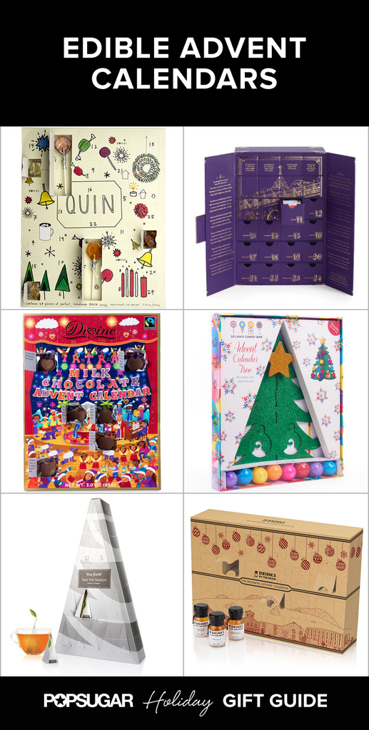 Edible advent calendars popsugar food Where to buy cheese advent calendar