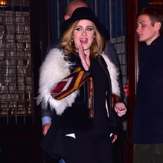Jennifer Lawrence and Adele Have Dinner in NYC