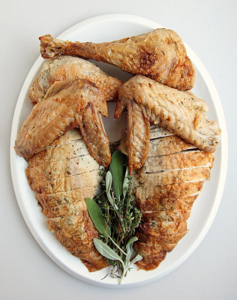 Herb-Roasted Turkey and Cru Beaujolais