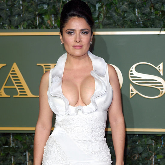 Salma Hayek Shows a Lot of Skin on the Red Carpet Nov. 2015