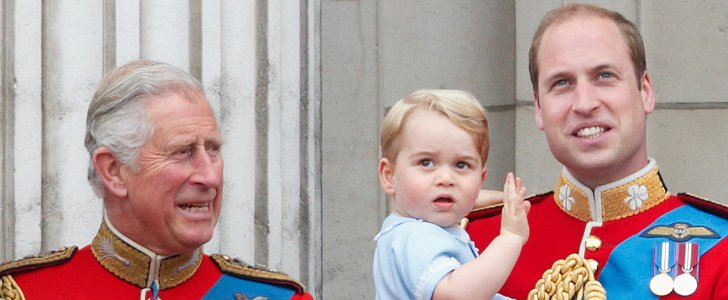 "Prince Charles Calls George ""a Character"" Who ""Loves Being Outside"""