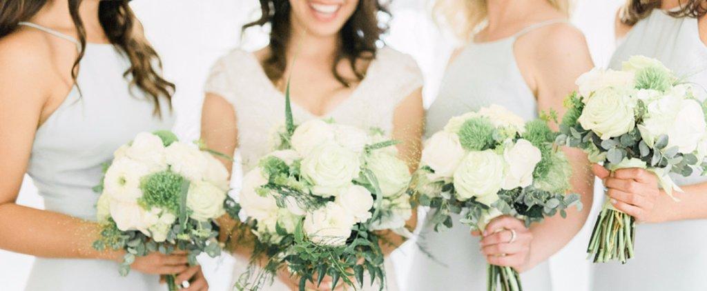Gorgeous Powder-Blue Outdoor Garden Wedding Inspiration