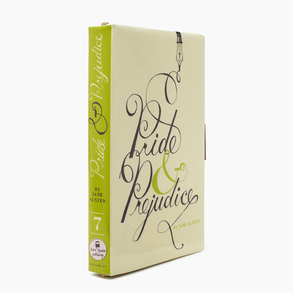 Pride and Prejudice Book Clutch