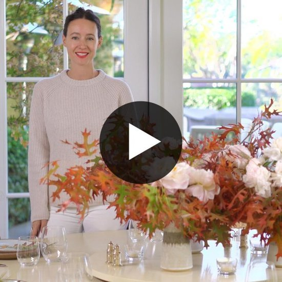 Watch Jenni Kayne Create A Simple Thanksgiving Centerpiece