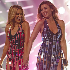 Dannii and Kylie Minogue The X Factor Australia Performance