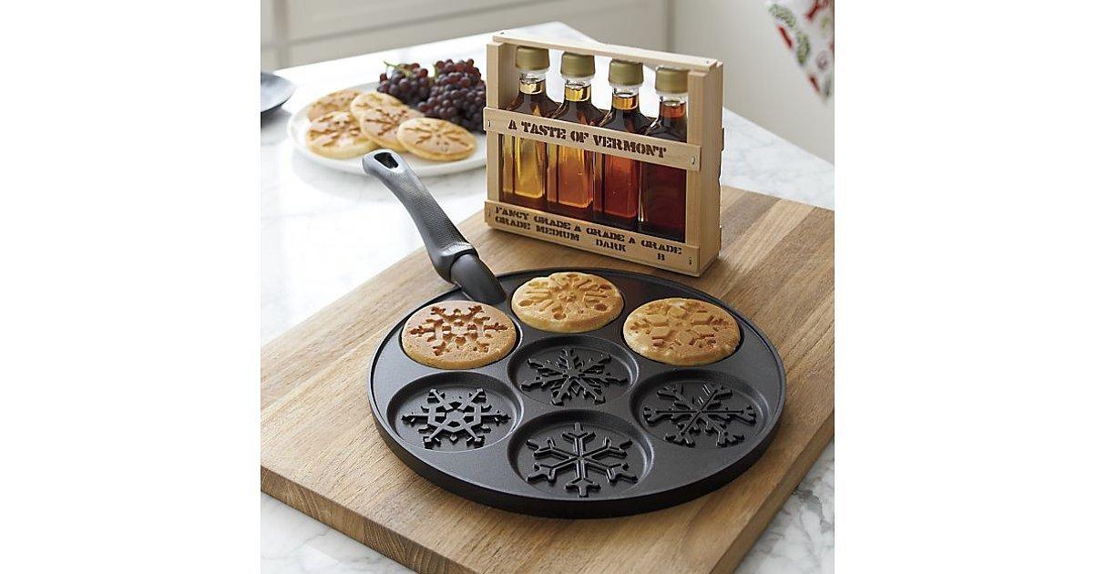 Nordic Ware Snowflake Silver Dollar Pancake Pan The Best