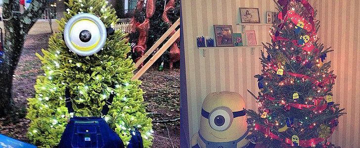 These Minions Christmas Trees Are All the Inspiration You Need For Your Own Tree