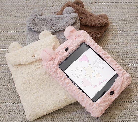Faux Fur Animal iPad Cases