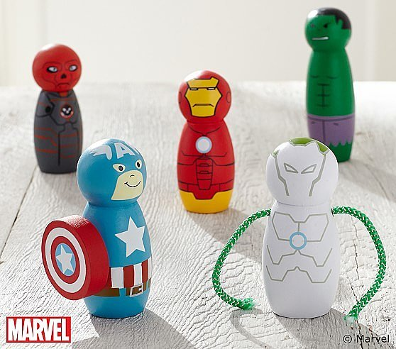 Marvel Super Hero Figurines Set