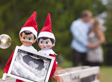 The Cutest Holiday Pregnancy Announcement Ideas We've Seen