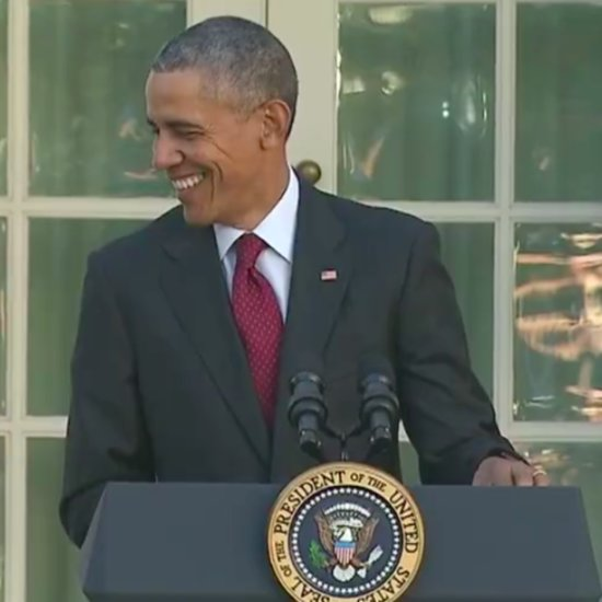 President Obama 2015 Turkey Pardon (Video)