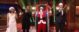 Jimmy Fallon and Rashida Jones's 2015 Holiday Pop Medley Was Bigger Than Ever This Year