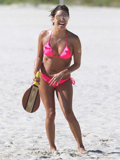Eva Longoria, Christie Brinkley & More Sizzling Celeb Swimwear Pics