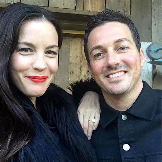Liv Tyler Shows Off Stunning Diamond Engagement Ring in New Photo with 'Sweet Sweet' Fiancé David Gardner