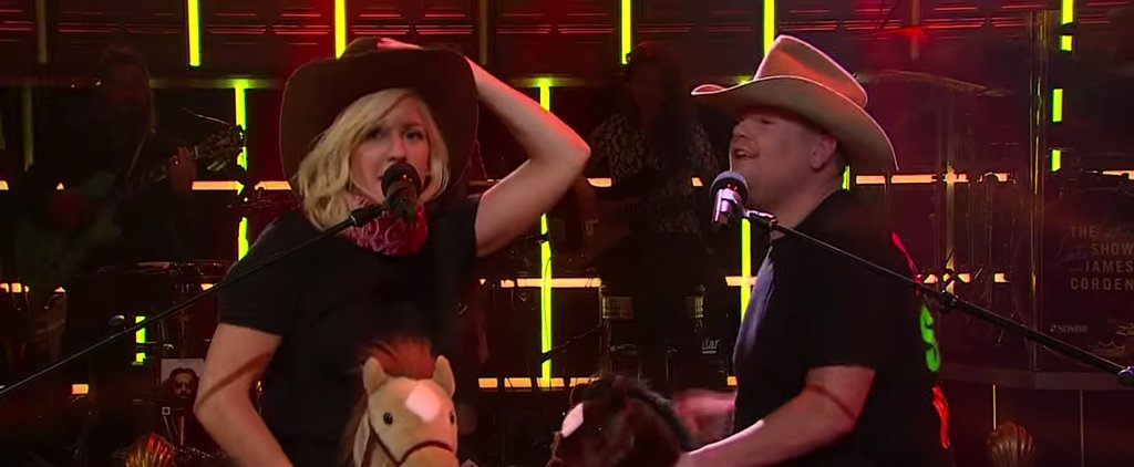 """Ellie Goulding and James Corden Perform a Hilarious Version of """"Love Me Like You Do"""""""