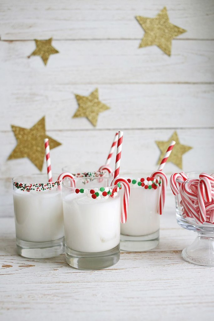 Peppermint Coconut Cocktail